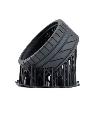 Rubber-plastic-print-of-toy-car-tyre