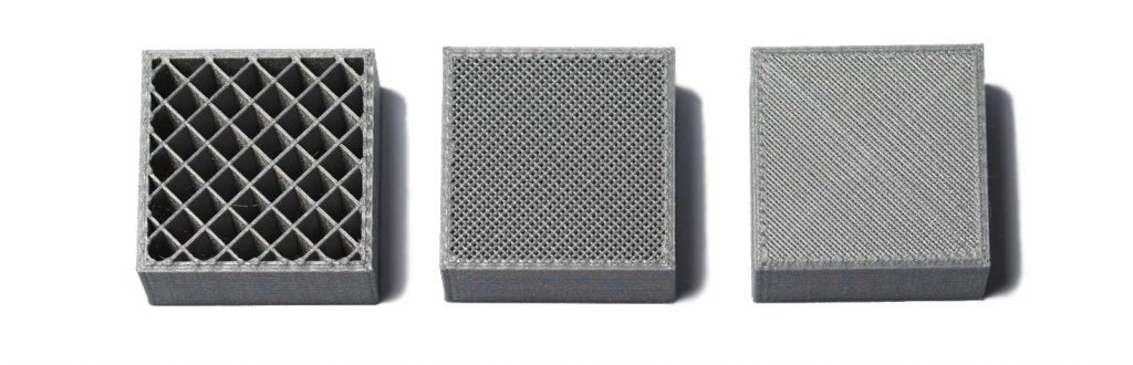 3-3d-printed-squares-with-different-percentage-infills