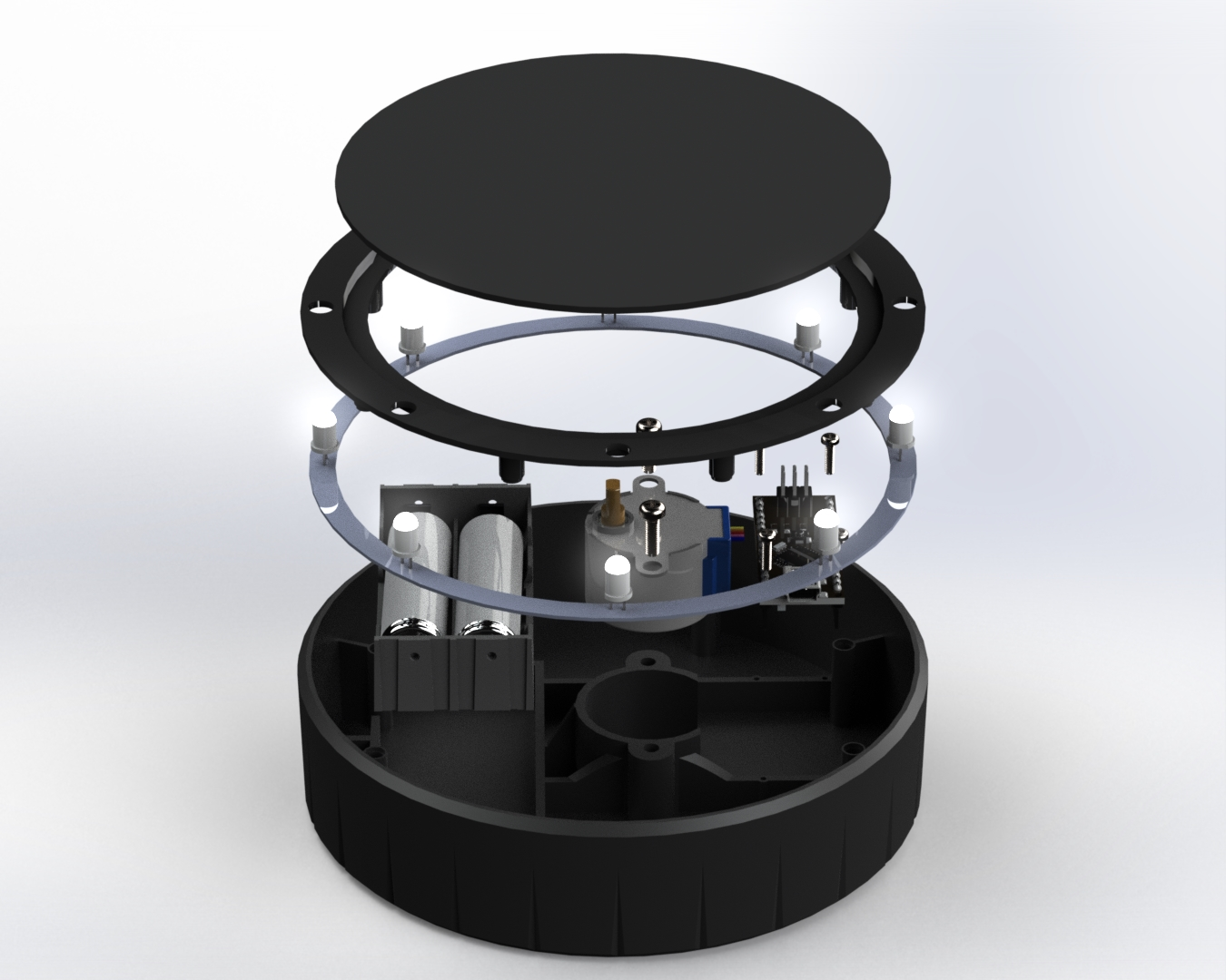 rotating-arduino-nano-product-display-table-exploded-view-computer-rendering