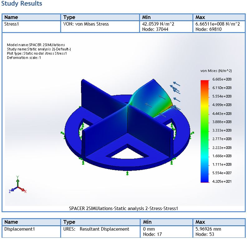 abs-molded-tiling-spacer-force-loading-analysis-report-simulation-showing-material-deformation