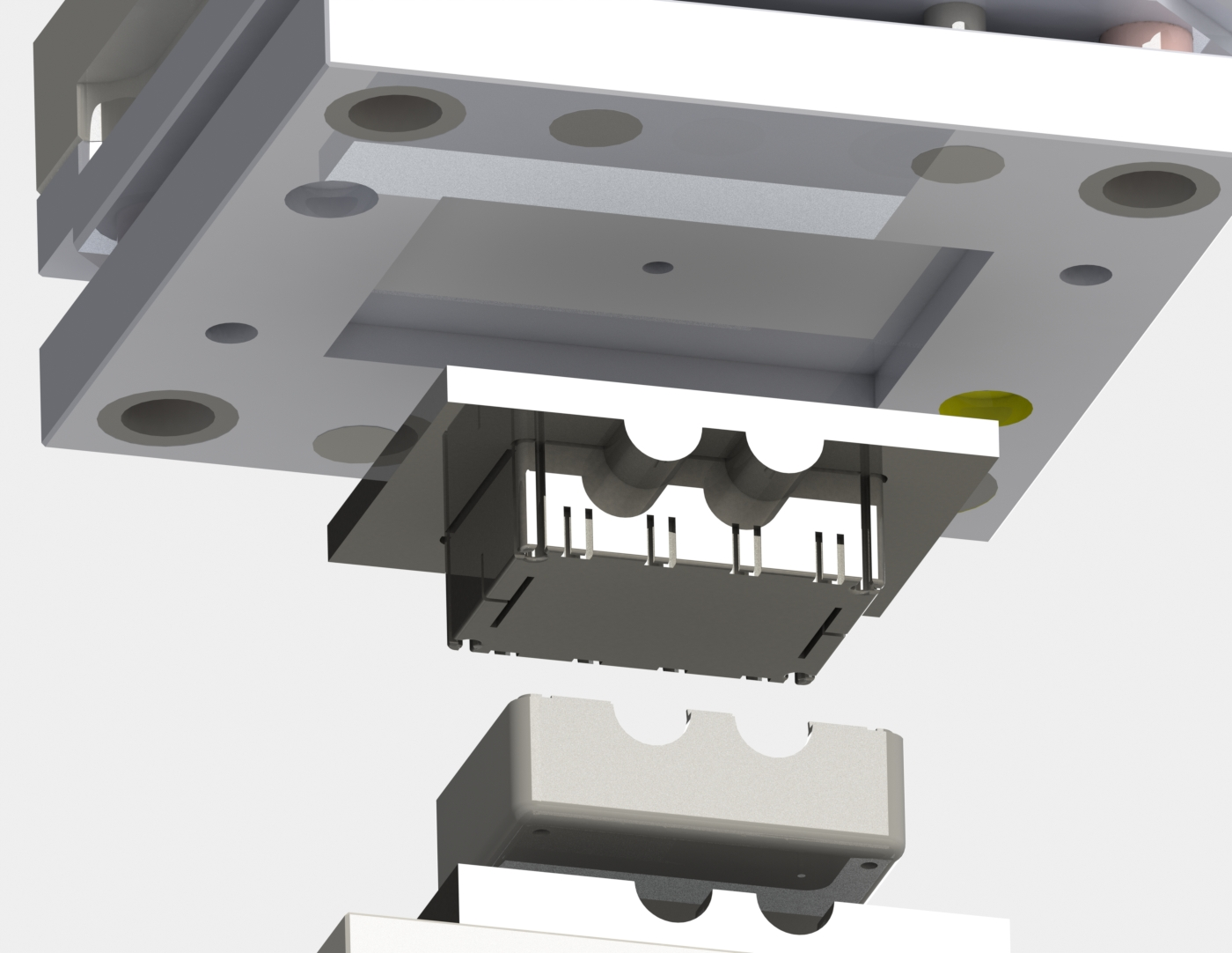 mold-tool-assembly-of-motion-sensing-plastic-device-core-plate