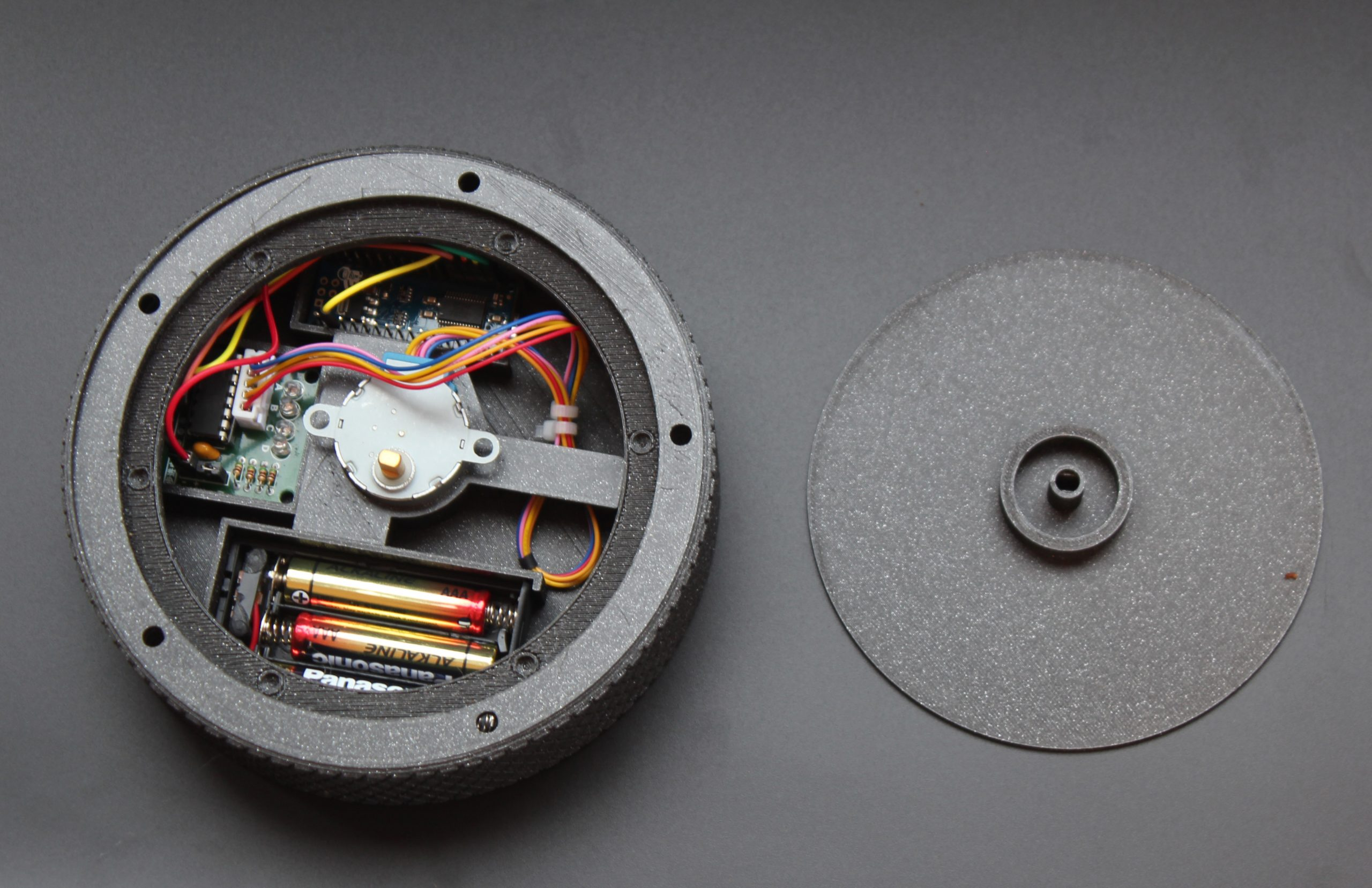fdm-3d-printed-black-casing-with-stepper-motor-and-electronics-inside