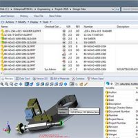 solidworks-PDM-screen-interface-file-manager